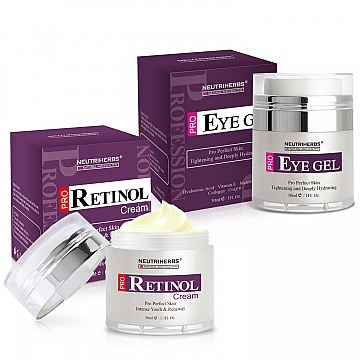 neutriherbs-pro-retinol-face-cream-eye-gel-kit