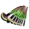 Jungle Magic Makeup Brush Set - GREEN