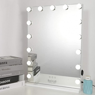 Makeup Mirror PROLINE Hollywood 15 LED