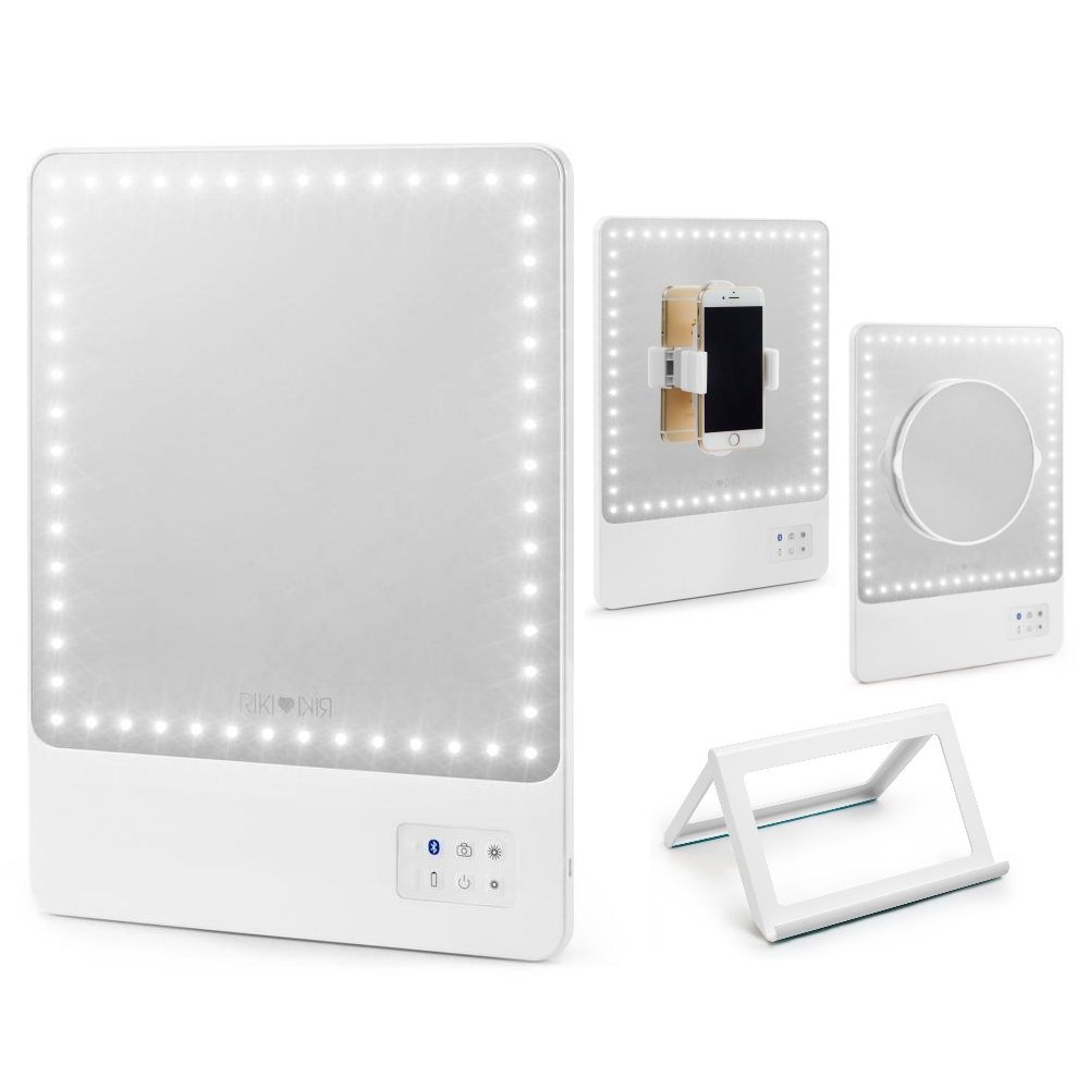 GLAMCOR Smart makeup mirror with HD LED ...