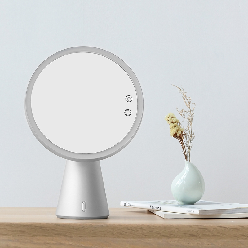 Revolt Makeup Mirror Fascinate Led With Bluetooth Speaker Revolt