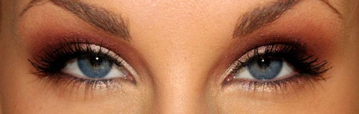 hur får man gröna ögon