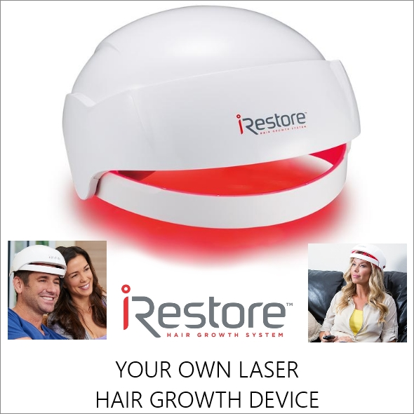iRestore Europe - Laser hair growth helmet system for new hairgrowth & healthy thicker hair.